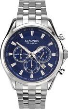 Sekonda Gent's Stainless Steel Chronograph Bracelet Watch 1393