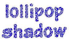 "Sizzix Bigz Lollipop Shadow Lowercase 2"" alphabet 4-die #657893 Retail $99.99"