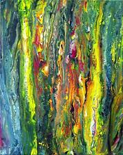 Jannys ART - Color33 -  Original Acrylbild Abstrakte Kunst Malerei Acryl Gemälde