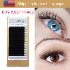 [US Shipping] All Size Eyelash Extension Individual Eyelashes Natural