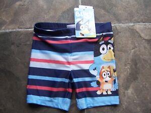 BNWT Boy's Bluey Swim Pants/Shorts/Swimmers/Bathers Size 1, 2, 3, 4 & 5