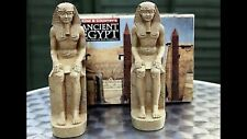 King & Country AE012 Pair Of Sitting Egyptian Pharaohs