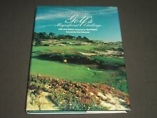 1988 GOLF'S MAGNIFICENT CHALLENGE BY ROBERT TRENT JONES BOOK - I 760