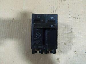 GE THQB THQB2190 2 Pole 90Amp 240V Silk Screen Circuit Breaker AK