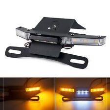 Tail Tidy License Plate Holder LED Turn Signals For KAWASAKI Z 900 2017-2020