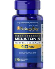 Melatoni 10 mg 120 capsules Puritans Pride - fast delivery to EU countries