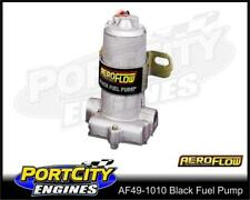 Aeroflow Electric Fuel Pump Black 140 GPH 14 psi Petrol Methanol AF49-1010