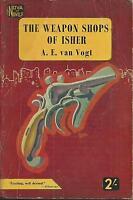 Weapon Shops of Isher AE Van Vogt 1954 Nova british digest pulp paperback digest