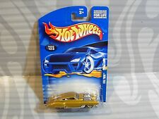 2002 HOT WHEELS  #123 = EVIL TWIN = GOLD  , 0910
