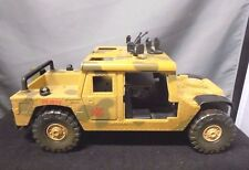 "Lanard Toys, Military Jeep Vehicle, Plastic, Camouflage Look (1997) 11"" Long"