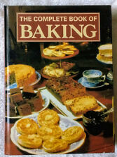 The Complete Book of Baking - vintage, large format HC -great variety of recipes