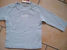 """(X26) Süßes Imps & Elfs Baby Shirt mit Logo und """"Boy"""" Druck auf der Brust gr.62"""