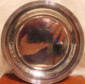 WALLACE STERLING SILVER BREAD & BUTTER PLATE 1505 , NO DAMAGE
