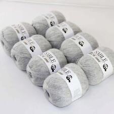 8Ballsx50g Pure Sable Cashmere Hand Knitwear Wool Shawls Soft Crochet Yarn 02
