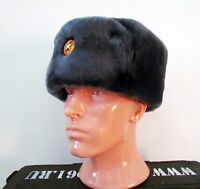 Russian Army Officier Winter Hat Ushanka by BTK Group. Natural Fur.NEW!