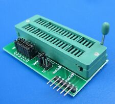 PIC Programmer Universal Adapter board, ZIF socket Programming PCB, PICKIT3 or 2