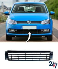 NEW VOLSWAGEN POLO 6R 6C 2014 - 2018 FRONT BUMPER LOWER GRILLE CHROME 6C0853671N