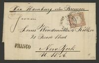 Germany Stamp Scott #25 on 1878 Cover, single franking
