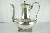 Vintage James Dixon & Sons Tea Pot Electroplate Britannia Metal Silver Plated