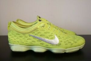 Womens Nike Zoom Fit Agility Yellow Trainers - UK 7