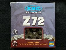 KMC Z72  6 7 8 SPEED BICYCLE CHAIN 116L Road / MTB fits SHIMANO SRAM CAMPAGNOLO