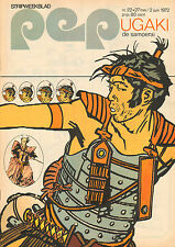 PEP 1972  nr. 22 - GEORGE HARRISON / FC DEN HAAG (POSTER) / UGAKI (COVER)