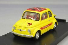 Brumm 1/43 Fiat Abarth 695SS ASETTO CORSE Yellow Scottish Check Japan LTD