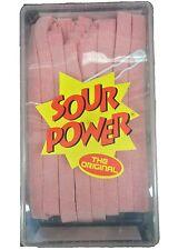 Dorval Sour Power Pink Lemonade Candy Belts! Sour Power Belts!- 150 Count!