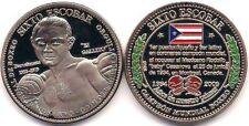 SIXTO ESCOBAR Campeon Boxeo PUERTO RICO World Boxing Champion Medal BARCELONETA