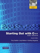 NEW 3 Days to US Starting Out with C ++ Early Objects 7E + CD & Code Gaddis 7th