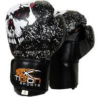 Gel Boxing Gloves Fight Punch Bag MMA Muay Kick thai Grappling Pads Glove UFC