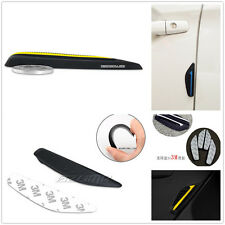 Rearview Mirror Side Bumper Yellow Silicone Anti-Rub Door Edge Strip For Car SUV
