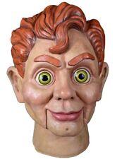 Trick or Treat Studios Goosebumps Mask Slappy the Dummy Latex Ventriloquist New
