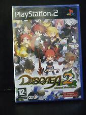 DISGAEA 2 CURSED MEMORIES SPECIAL EDITION CON CD COLONNA SONORA NUOVO  ITA. PS2