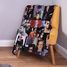 George Michael Coloured Photo Design Soft Fleece Throw Blanket