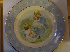 Avon Tenderness Commemorative Plate Special Edition Jan 1974 Avon Rep Award Nice