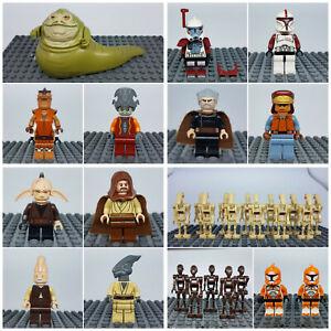 Lego Star Wars Figuren Minifiguren Figur - zur Auswahl