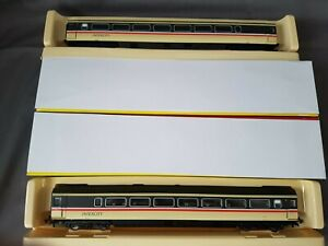 2 HORNBY R4314/4314A  INTERCITY MK3 GUARDS STANDARD COACHES 44057,44024 MINT BXD