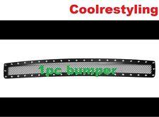 Fit GMC Sierra 1500 2007-2013/Denali 07-2010 Black Mesh Rivet Bumper Grille 1pc