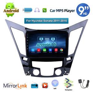 2DIN 9'' Android 10.1 Touch Screen Car Stereo Radio For Hyundai Sonata 2011-2015