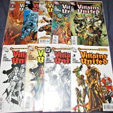 VILLAINS UNITED #1-6 Full Set! (NM) +#1 & #2 Variants & Special DC 9 Issues 2005