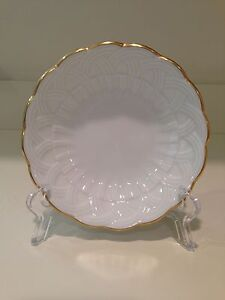 Hochst Porcelain White Dish Made in Germany New