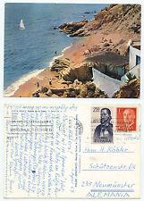 21344-Costa Brava-velella de la Costa-Postcard, run 1.4.1967