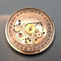 AS 1691 gents mechanical watch movement - 10.5 Ligne - for restoration / repair