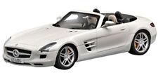Mercedes Benz SLS AMG bianco, BBURAGO Street Fire AUTO MODELLO 1:43