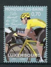 Luxembourg 2017 MNH Mondorf-Les-Bains Start Tour de France 1v Set Cycling Stamps