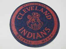 "Cleveland Indians My Favorite Team 4.75"" Felt Patch Bazooka Blony Gum Premium"