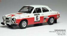 Ford Escort RS 1600 Mk1 #6 RAC Rally 1971 Clark Porter 1 18 Ixo