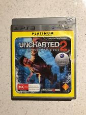 PS3 Platinum Edition Uncharted 2 Among Thieves Complete With Manual Free Postage