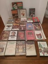 NAT KING COLE BING CROSBY 24 ASST CHRISTMAS CASSETTE'S WOW LOOK
